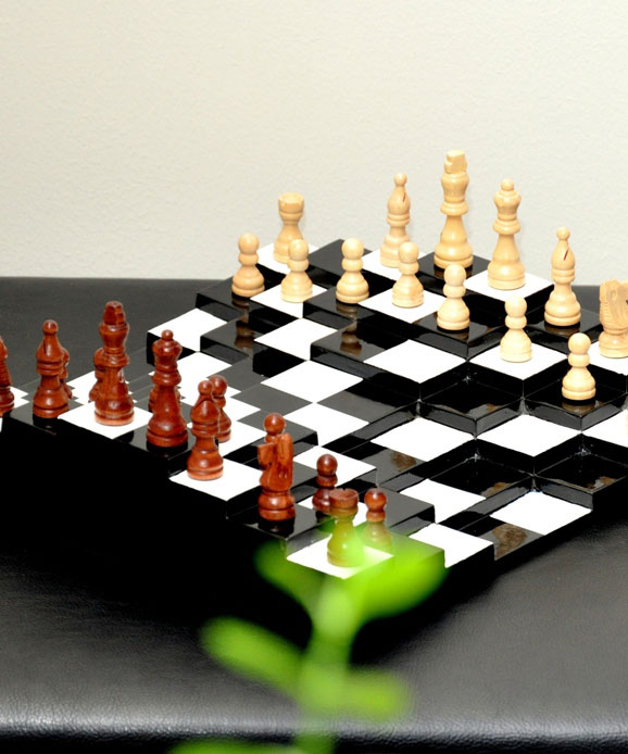 Make your move with the 3D Chessboard, taking the sport of wits to a new dimension