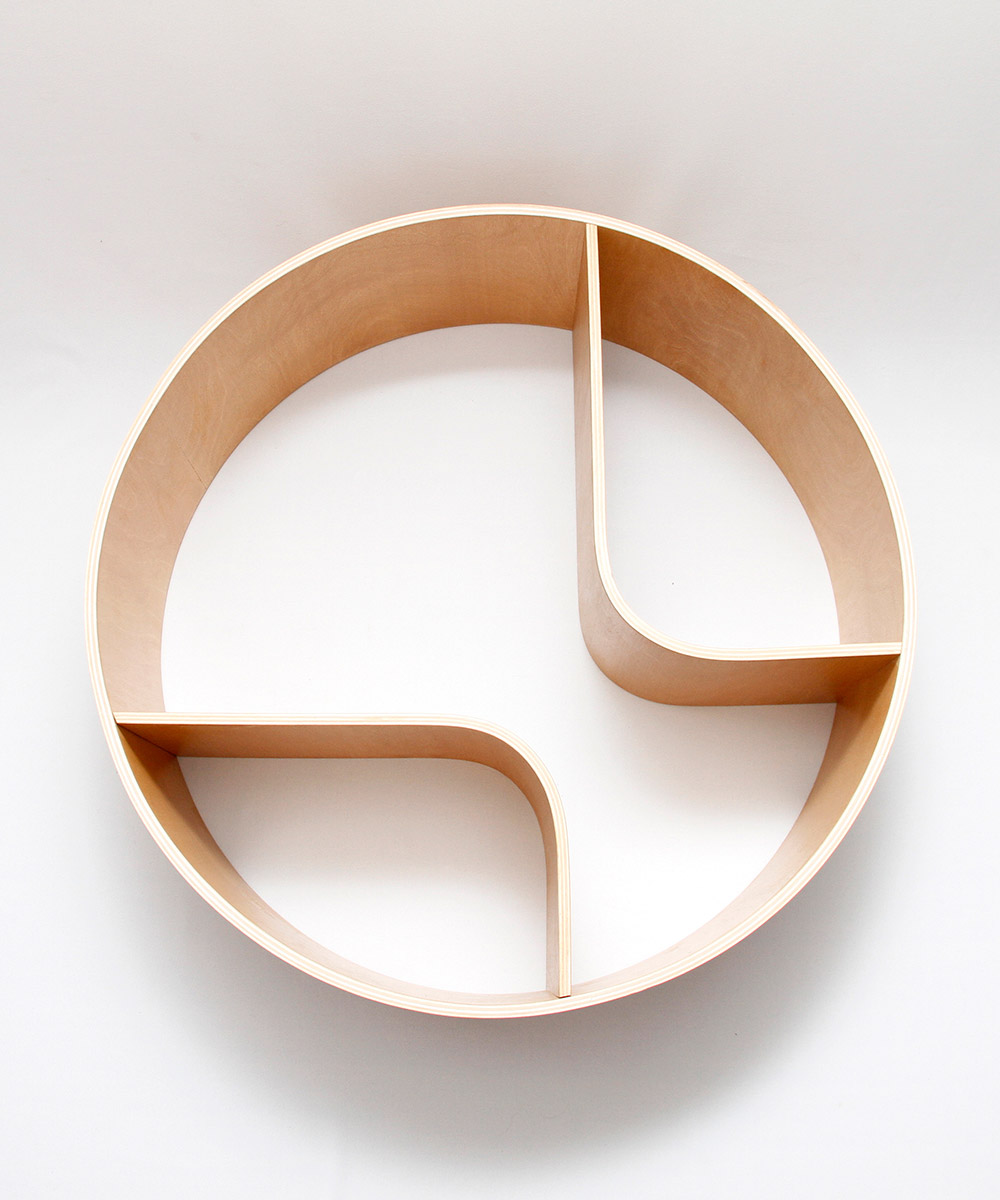 Circle Shelves by Talken Design