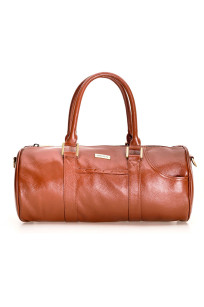 Duffel Bag Small – Cognac Brown
