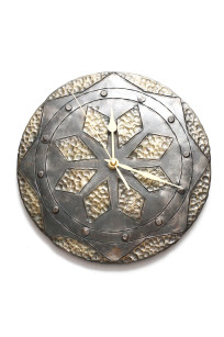 Hand Forged Clock by Blacksmith