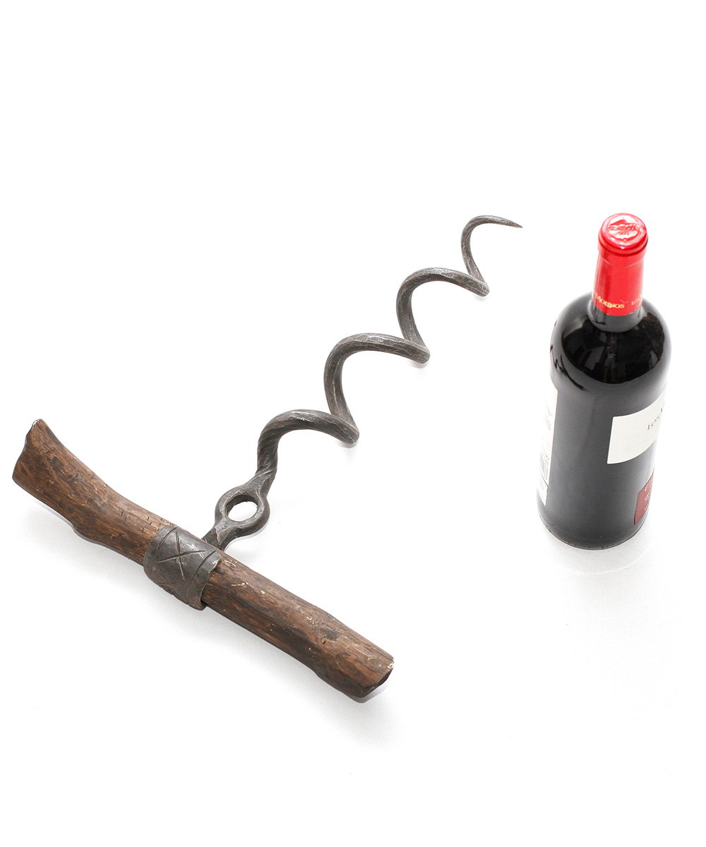 Hand Forged Corkscrew by Blacksmith
