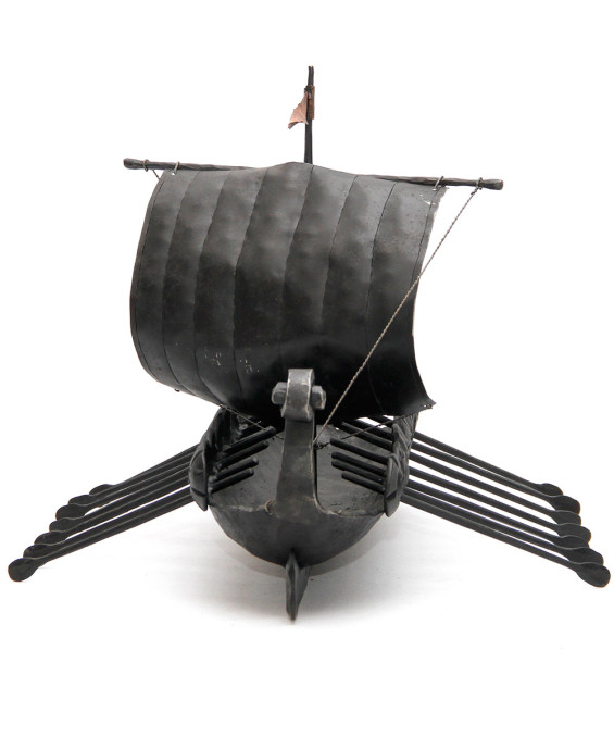 Hand Forged Viking Ship by Blacksmith