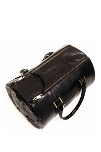 Pet carrier in leather for dogs & cats up to approx. 8kg