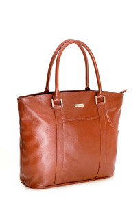Small Shopper in leather, ideal as everyday handbag.