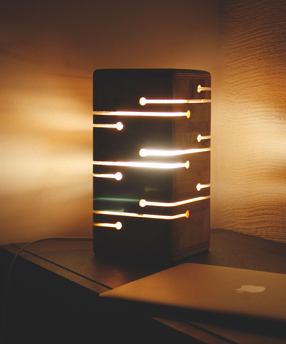 The Lamp itself glows with creativity and is sure to impress any onlooker