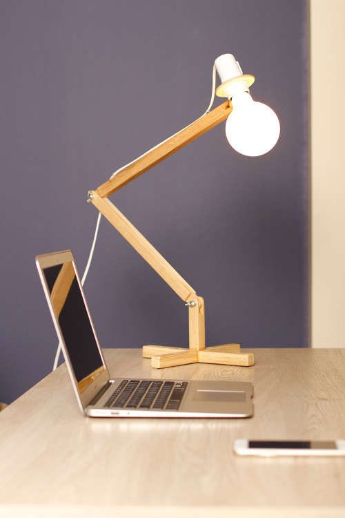 Handmade Table Lamp by BlackGizmo